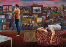 TERRY MATASSONI born 1959, The World Outside 2002