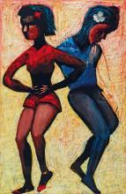 CHARLES BLACKMAN (1928-2018), The Dance c1988