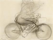 BRETT WHITELEY (1939-1992), Girl on a Bike 1974