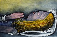 CHARLES BLACKMAN (1928-2018), Sleeping Alice