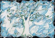 CHARLES BLACKMAN (1928-2018), The Bluebird Cloth 1975