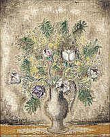 Sei KOYANAGUI (1896-1948) - Fleurs dans un vase