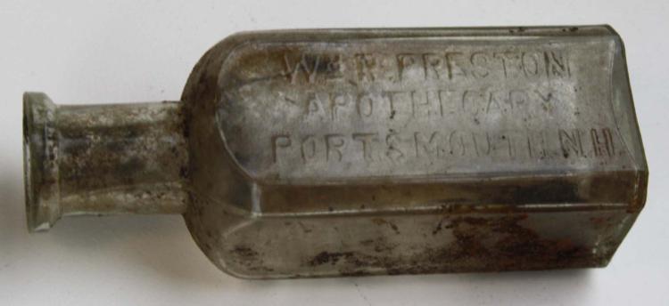 16 Portsmouth Nh Drug Store Bottles