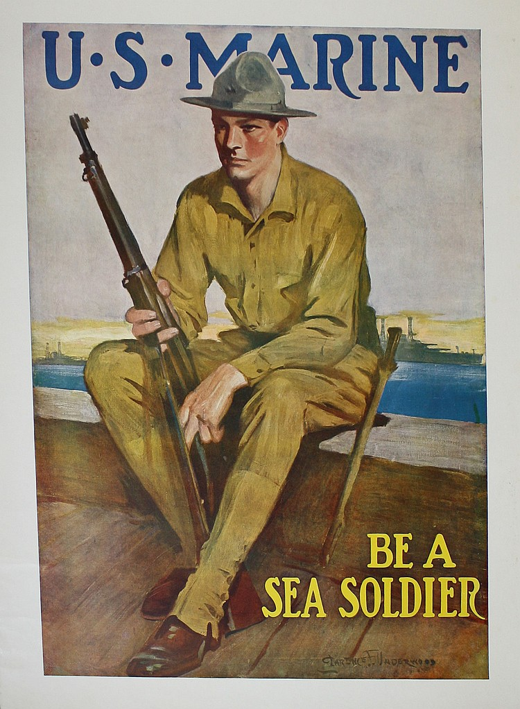 Clarence Underwood US Marine