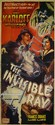 1944 Boris Karloff Bela Legosi The Invisible Ray movie three sheet poster