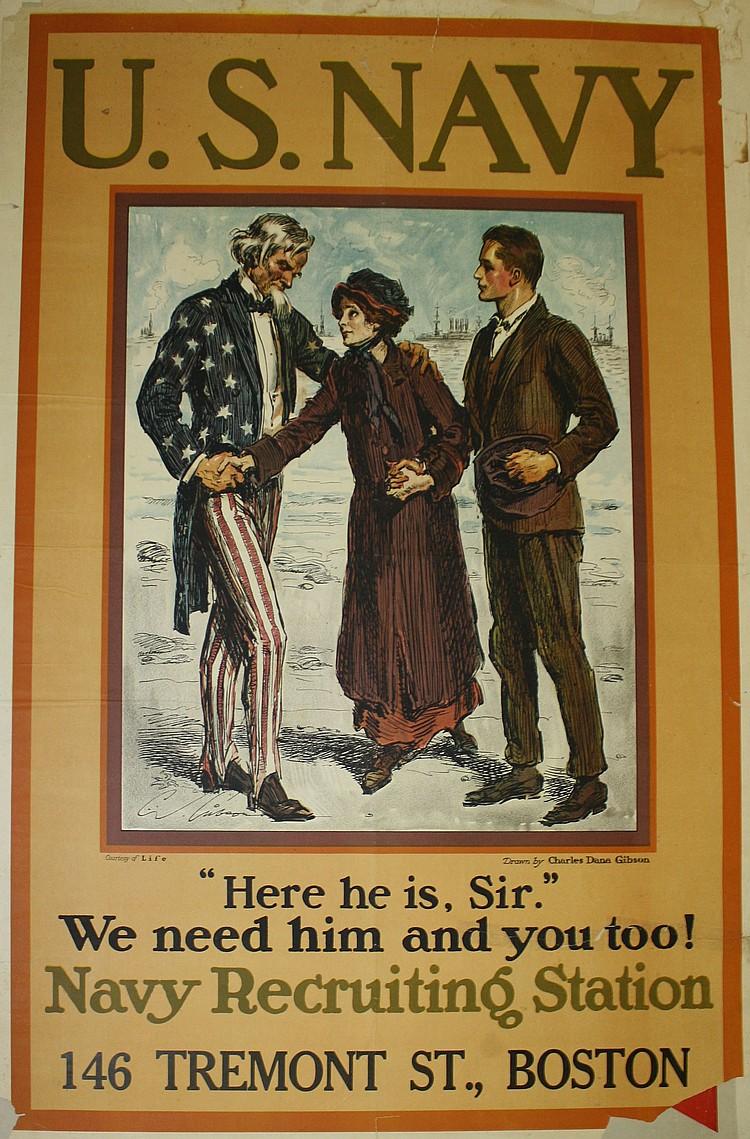 Charles Dana Gibson Uncle Sam