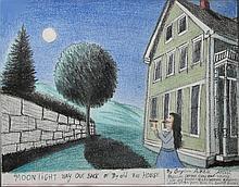Gayleen Aiken (VT 1934-2005) pastel