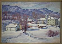 Thomas Curtin (VT 1899-1977) o/c Jeffersonville