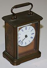 Chelsea Clock Co. Theodore Starr NY brass carriage