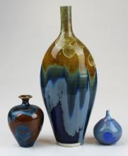 3 pieces Simon Rich studio pottery