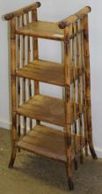 Bamboo book shelf