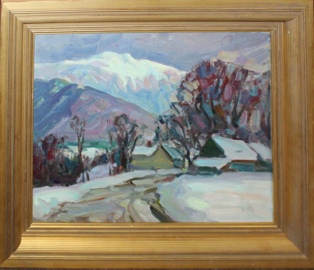 Thomas R Curtin (VT 1899-1977) Mount Mansfield