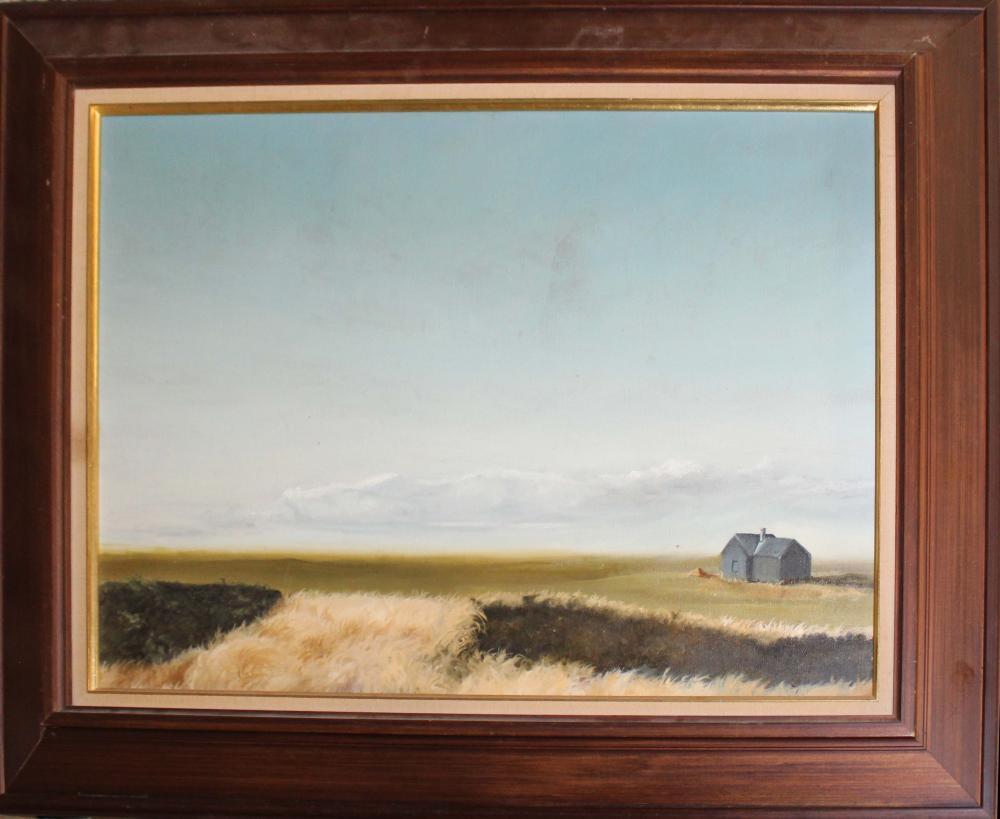 Carroll N Jones Jr (Am 1917-2007) Landscape