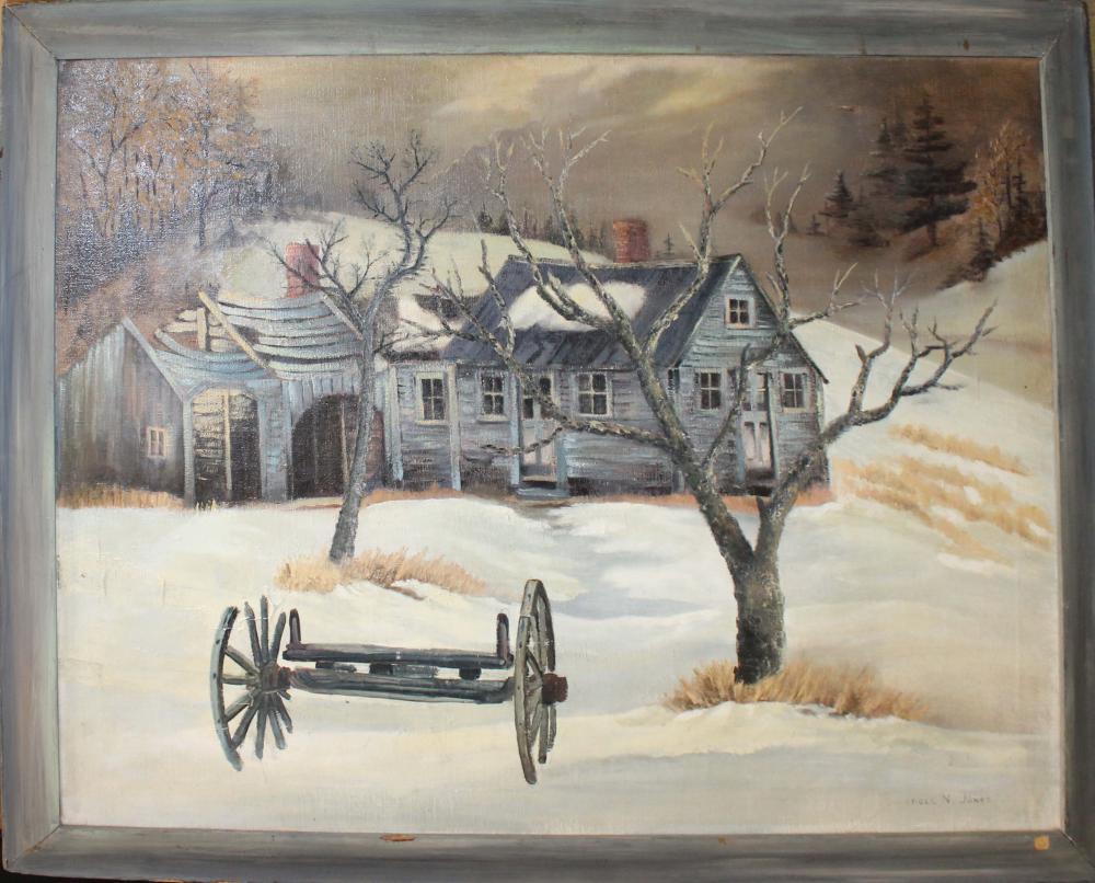 Carroll N Jones Jr (Am 1917-2007) That Old House