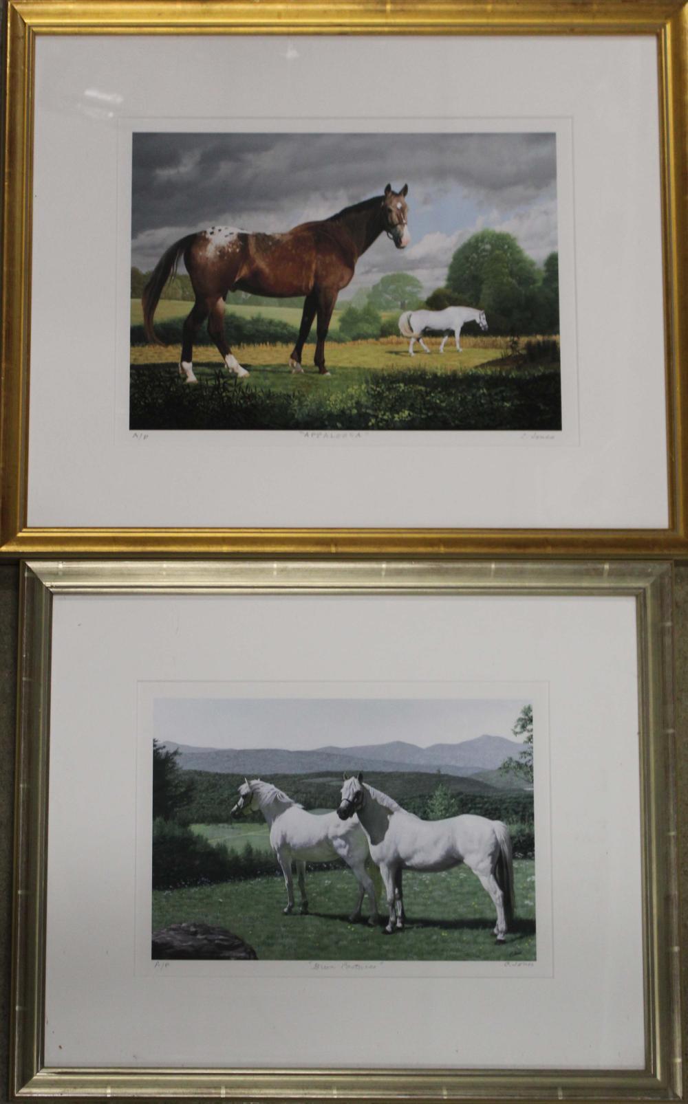 Carroll N Jones Jr. (Am 1917-2007) Two Prints