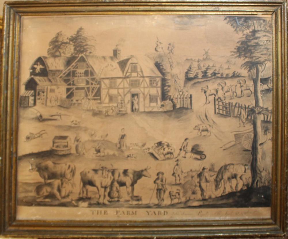 John Freeman (EN 18th c) The Farm Yard