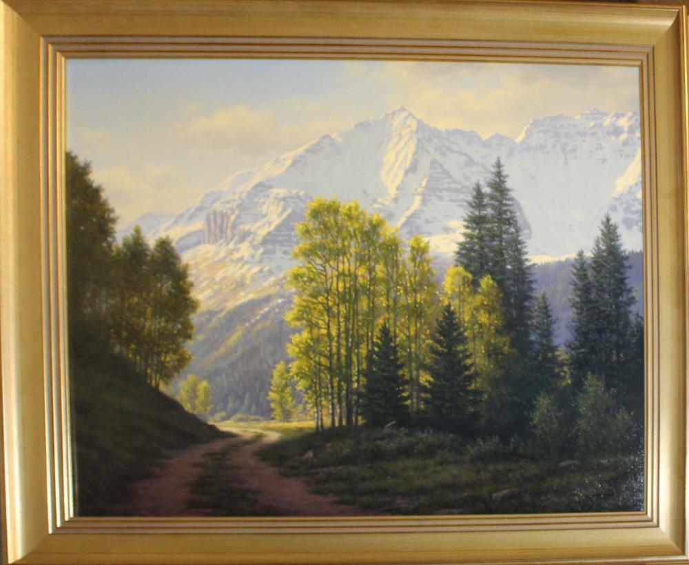 Mark Pettit (AM 1957-) Western Landscape