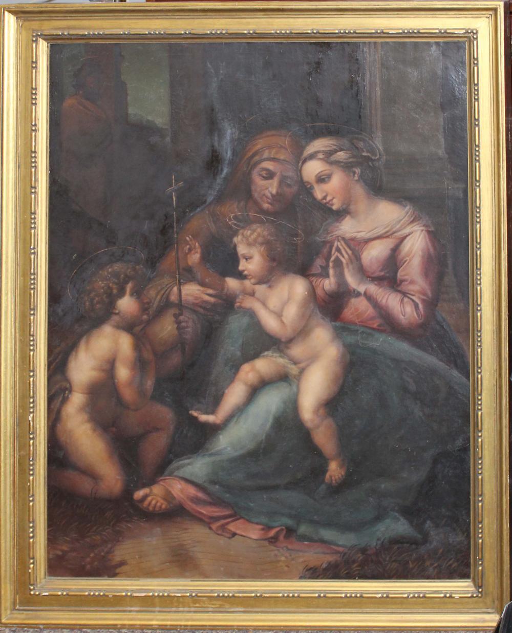 After Raphael Sanzio Di Urbino (IT 1483-1520)