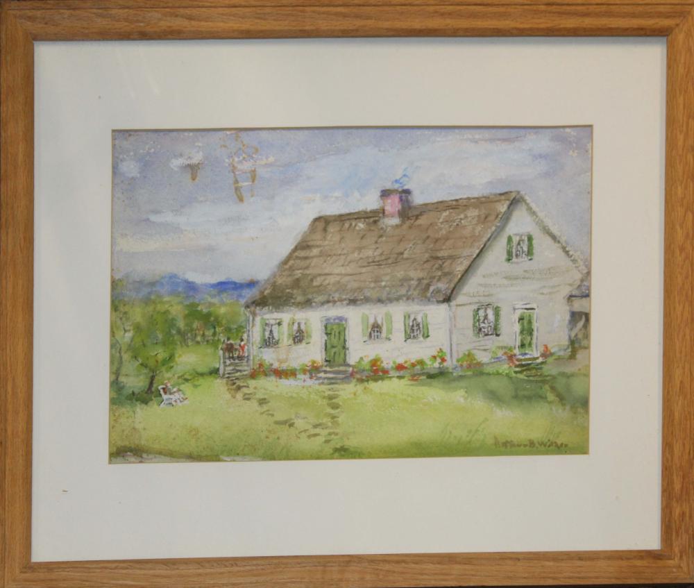Arthur B. Wilder (AM 1857-1945) 8 Pastels