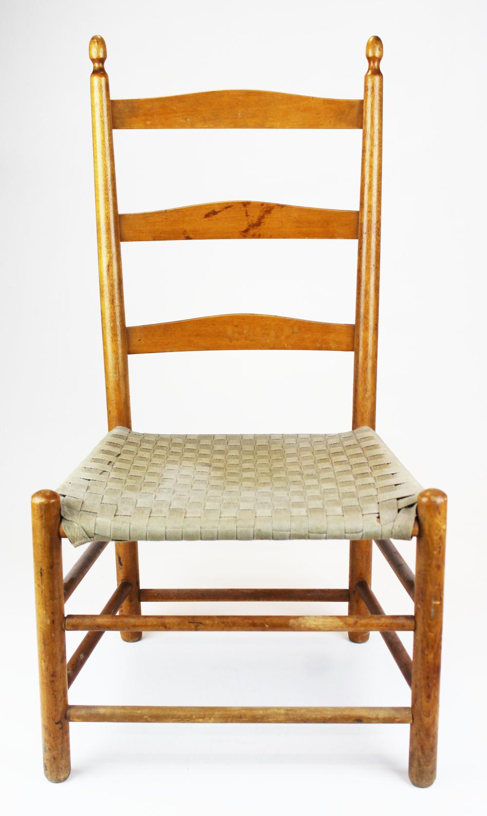 signed Mt Lebanon Shaker child's chair