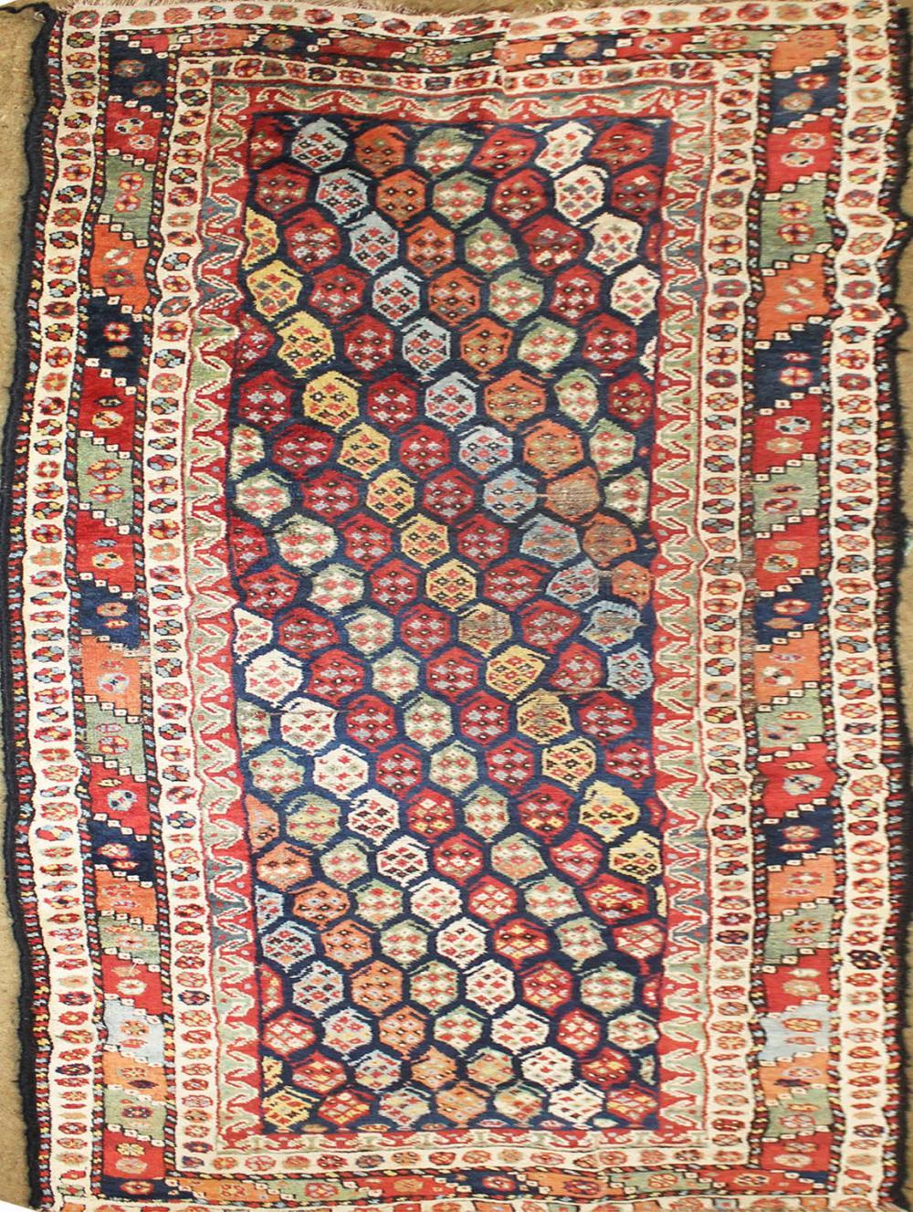 Caucasian Gendge or Karabagh area rug