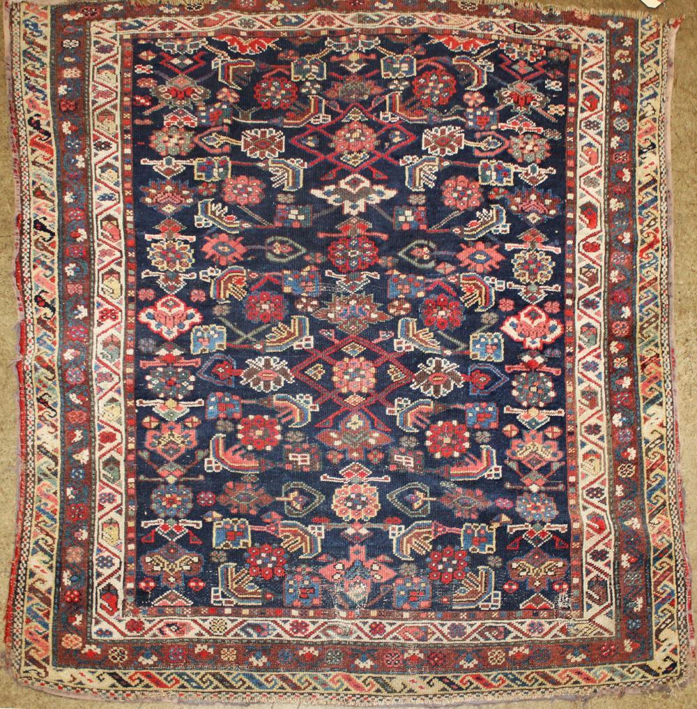 Persian square area rug