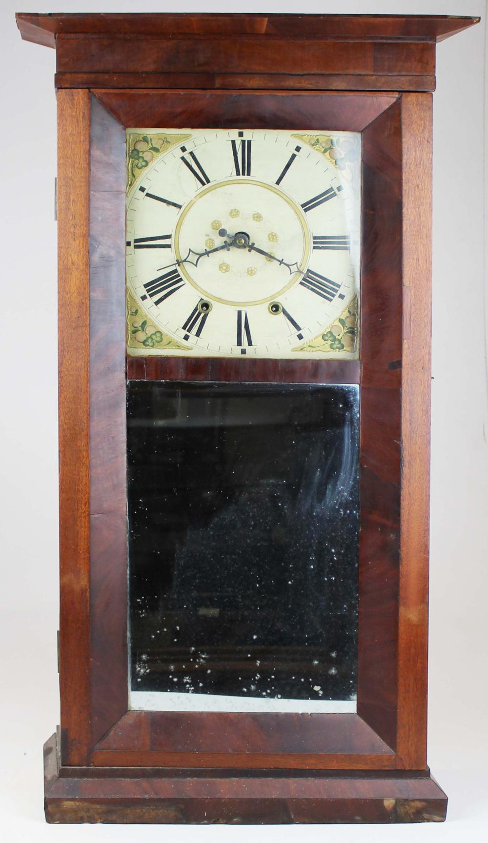 Charles Stratton eight day shelf clock