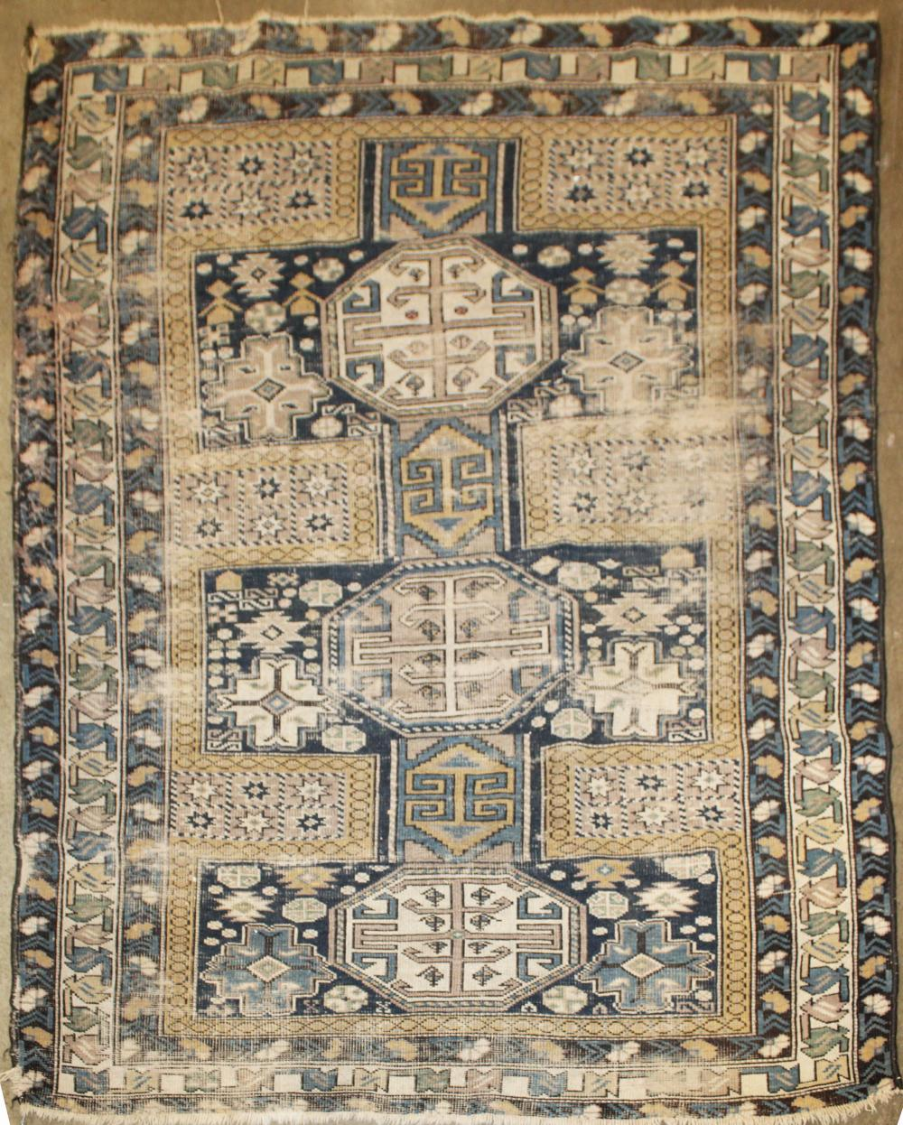 early 20th c Caucasian prayer rug