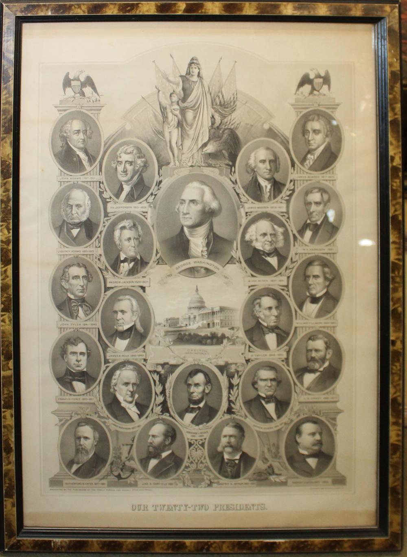 Our Twenty Two Presidents