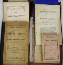 VT Civil War historical books & pamphlets