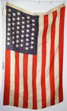 45 star US flag, (1896- 1909) 3' x 5'
