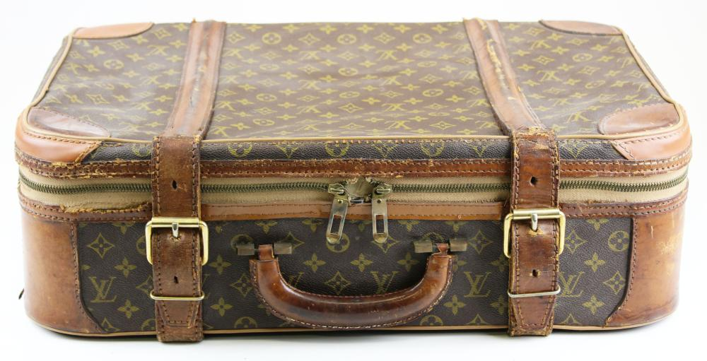 ebad4be8a45a vintage Louis Vuitton hard side suitcase