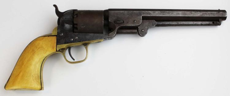 1851 colt navy 36 cal percussion revolver