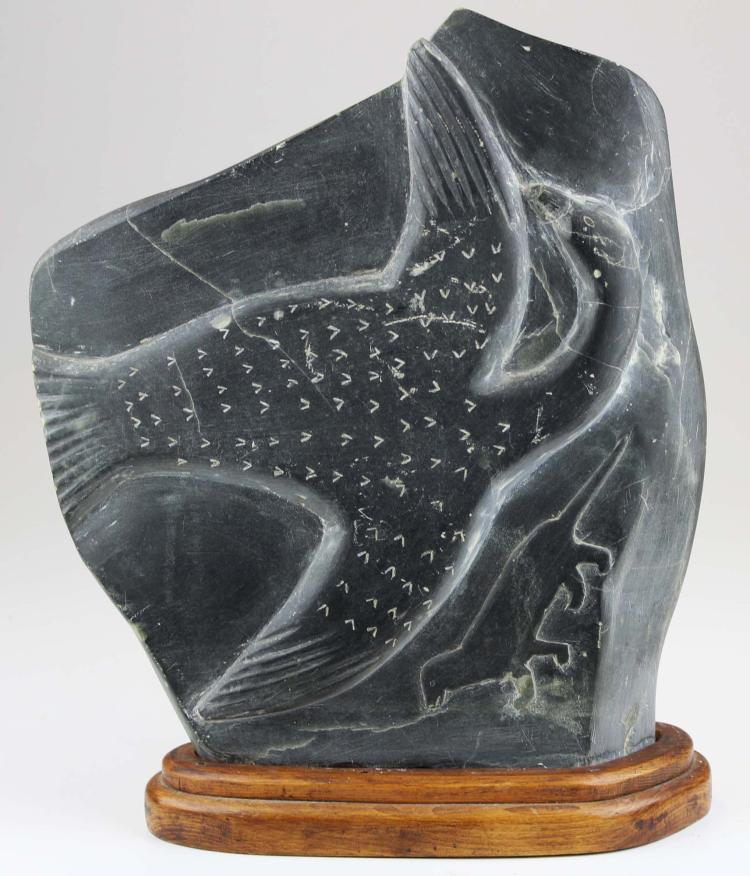 Late th c nunavik arctic quebec carving