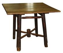 Adirondack Rustic Old Hickory style table