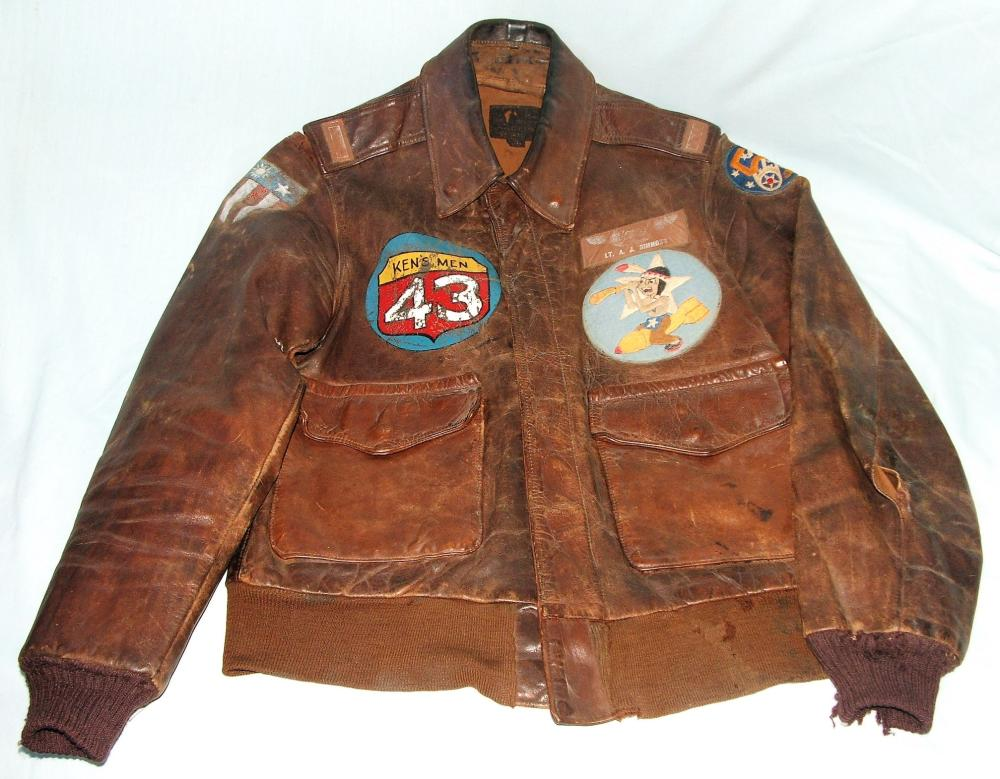 WWII US Army Air Corps A2 Aviator's Jacket