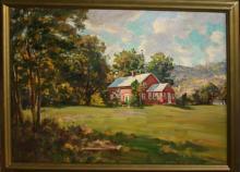 Thomas Curtin (VT 1899-1977) Brick Cape