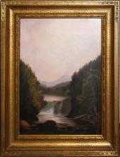 Charles Louis Heyde (VT 1822-1892) Otter Creek
