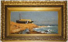 Frank Waller (Am 1842-1923) Orientalist scene