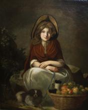 James Northcote (EN 1746-1831) Fruit Girl