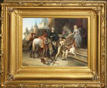 Adrien Joseph Verhoeven-Ball (Belgium 1824-82)