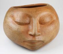 Mid Century Gene Pearson sculptural pot