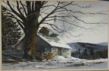 Ferdinand Petrie (Am 1925-2007) Sugarhouse