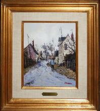 Jean Pierre DuBord (French 1949)  Rouen