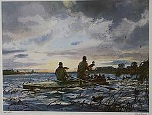 Ogden Pleissner (1905-1983) The Marsh Gunners