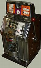 Jennings Coin-Op slot machine in nickel