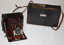 ca. 1890's Gundlach Optical Co. camera- Rochester,