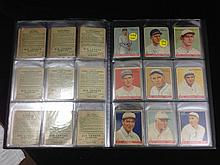 47 1933 Big league Chewing Gum baseball cards- no