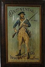 Continental Fire Insurance Co. self-framing tin