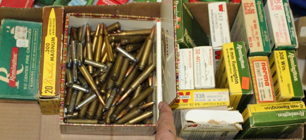 Misc  rifle ammo